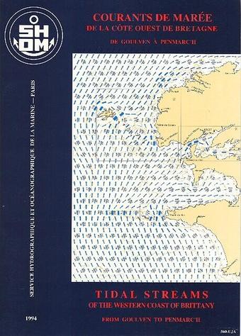 Atlas marées côte ouest de Bretagne