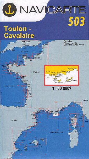 Navicarte Toulon - Cavalaire