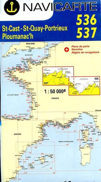 Navicarte Bréhat - Sept-îles