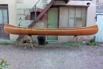 Construire le canoë bois Prospector 4,90m