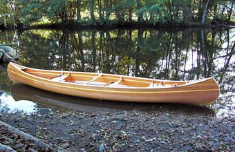 Construire le canoë bois Ricochet 4,90m
