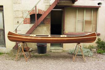 Construire le canoë bois Robinson 3,70m