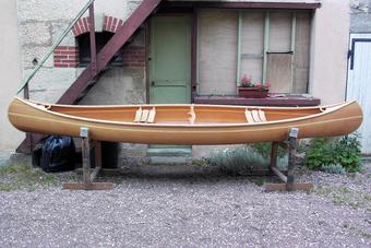 Construire le canoë bois Robinson 4,50m