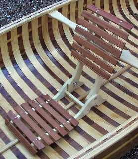 Construire un siège pliant