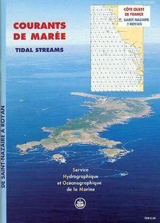 Atlas marées côte Atlantique