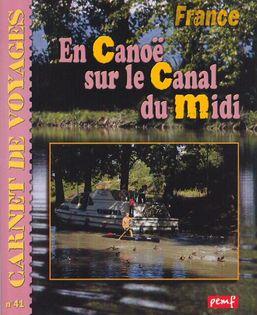 En canoë sur le canal du Midi
