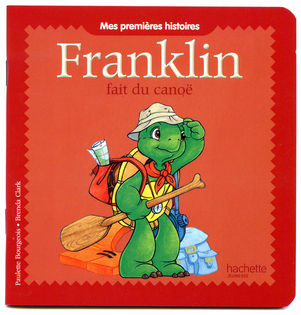Franklin fait du canoë