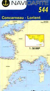 Navicarte Concarneau - Lorient - Groix