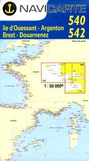Navicarte Argenton - Brest - Douarnenez