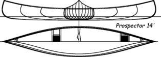 Construire le canoë bois Prospector 4,30m