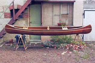 Construire le canoë bois Ricochet 4,10m