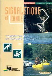 Signalétique et canoë