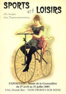 Sports et loisirs au temps des Impressionnistes