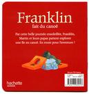Franklin fait du canoë : 4 de couv.