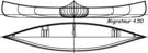 Construire le canoë MIgrateur 450 - plans