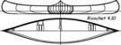 Construire le canoë bois Ricochet 4,10m - plans