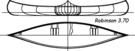 Construire le canoë bois Robinson 3,70m - plans